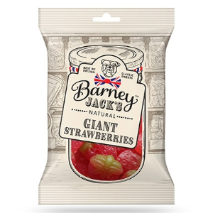 BARNEY JACKS GIANT STRAWBERRIES (150g) x 12