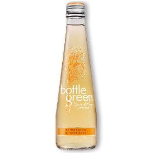 BOTTLEGREEN REFRESHING GINGER BEER SPARKLING PRESSE (275ml) x 12