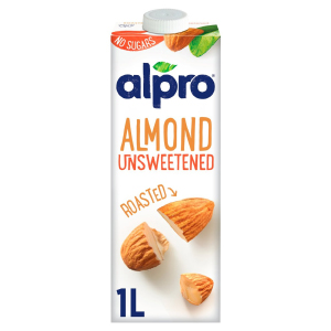 ALPRO AMBIENT ALMOND MILK UNSWEETENED (1L)
