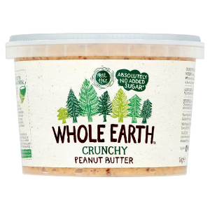 WHOLE EARTH CRUNCHY PEANUT BUTTER (1kg)