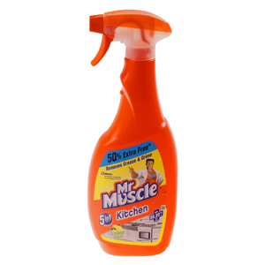 MR MUSCLE 5 IN 1 KITCHEN CLEANER SPRAY (500ml) x 10