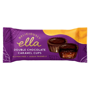 DELICIOUSLY ELLA DOUBLE CHOCOLATE CARAMEL CUPS (36g) x 20
