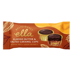 DELICIOUSLY ELLA ALMOND BUTTER & SALT CARAMEL CUPS (36g) x 20