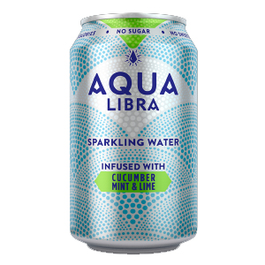 AQUA LIBRA CUCUMBER , MINT & LIME (330ml) x 24