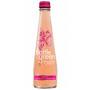 BOTTLEGREEN FRUITY RASPBERRY LEMONADE SPARKLING PRESSE (275ml) x 12