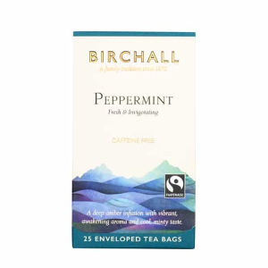 BIRCHALL PEPPERMINT TEA BAGS (25 bags)