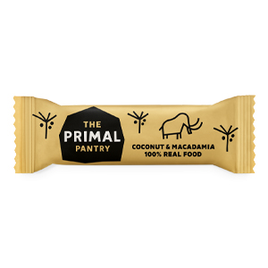 THE PRIMAL PANTRY COCONUT & MACADAMIA BAR (45G) x 18
