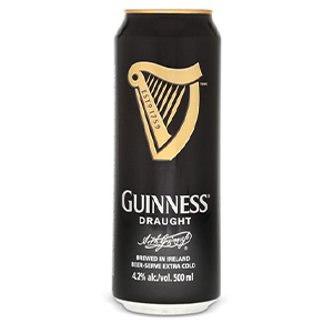 GUINNESS DRAUGHT CANS (440ml) x 24