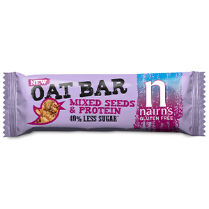 NAIRN'S PROTEIN & MIXED SEEDS BARS (40g) x 20