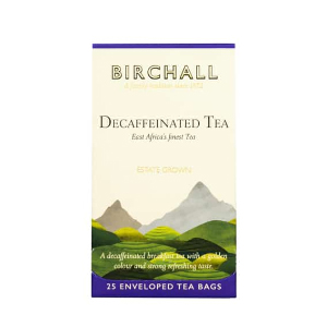 BIRCHALL DECAFFEINATED TEA BAGS (25 bags)