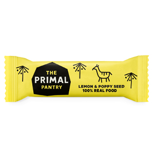 THE PRIMAL PANTRY LEMON & POPPY SEED BAR (45G) x 18