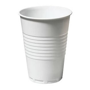 TALL PLASTIC CUPS WHITE (7oz/200ml) x 2000