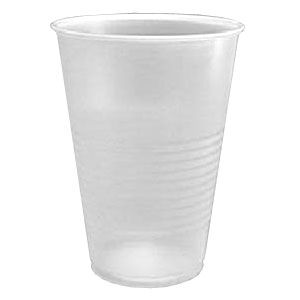 TALL PLASTIC CUPS TRANSLUCENT (7oz/200ml) x 3000