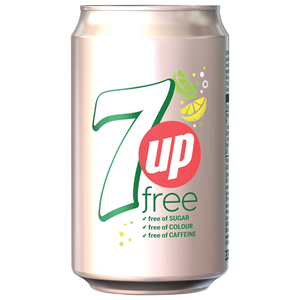 7UP FREE CANS (330ml) x 24