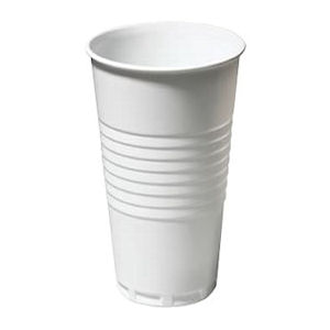 TALLPLASTIC CUPS WHITE (9oz/256ml) x 2000