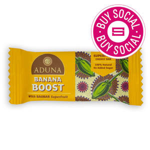 ADUNA BANANA BOOST – WITH BAOBAB SUPERFRUIT (40g) x 16