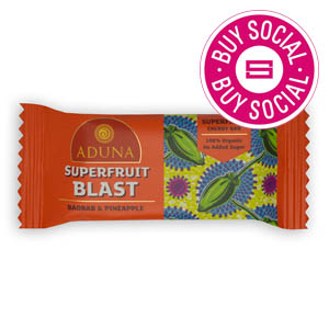 ADUNA SUPERFRUIT BLAST – WITH BAOBAB & PINEAPPLE (40g) x 16