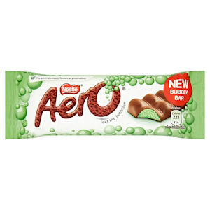 NESTLÉ AERO MINT CHOCOLATE BARS (36g) x 24