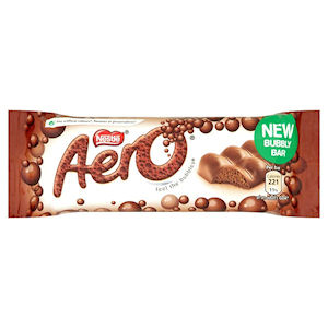 NESTLÉ AERO MILK CHOCOLATE BARS (40g) x 24