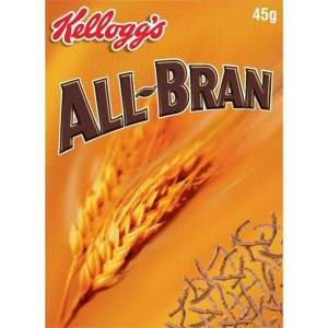 KELLOGG'S ALL BRAN INDIVIDUAL PORTIONS (45g) x 40