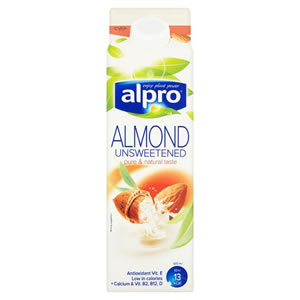 ALPRO ALMOND MILK UNSWEETENED (1L)