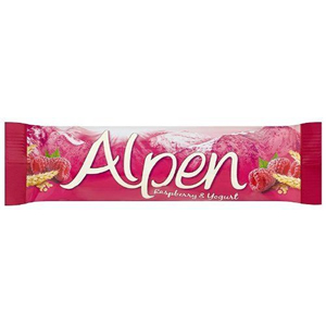 ALPEN RASPBERRY & YOGURT CEREAL BARS (29g) x 24
