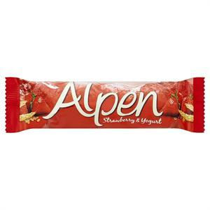 ALPEN STRAWBERRY & YOGURT CEREAL BARS (29g) x 24