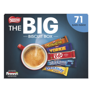 NESTLÉ BIG BISCUIT BARS BOX (71 biscuits)