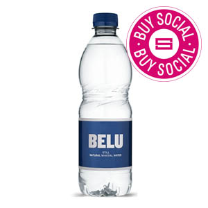 BELU MINERAL WATER STILL - PLASTIC BOTTLES (500ml) x 24