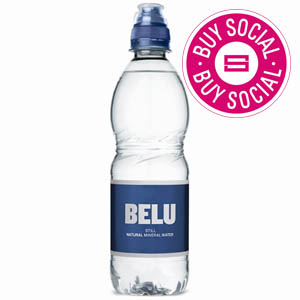 BELU MINERAL WATER STILL - PLASTIC BOTTLES WITH SPORTS CAP (500ml) x 24