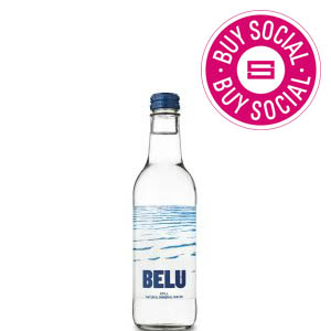 BELU MINERAL WATER STILL - CLEAR GLASS BOTTLES (330ml) x 24