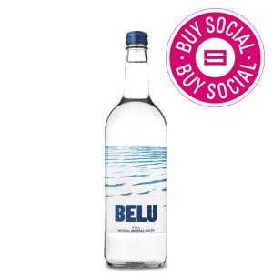 BELU MINERAL WATER STILL - CLEAR GLASS BOTTLES (750ml) x 12