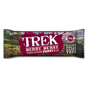TREK ENERGY BAR BERRY BURST (55gr) x 16