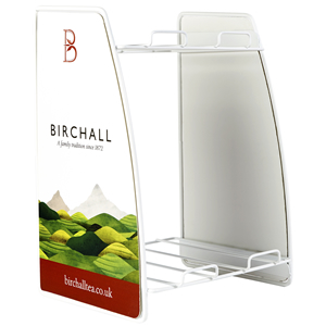 BIRCHALL TEA 2 TIER WIRE FRAME DISPLAY STAND