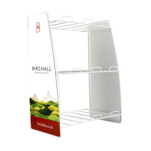 BIRCHALL TEA 3 TIER WIRE FRAME DISPLAY STAND
