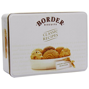 BORDER LUXURY BISCUITS ASSORTMENT TIN (500g)