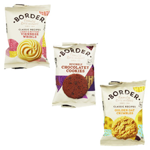 BORDER MINI PACK ASSORTED BISCUITS (singles) x 150
