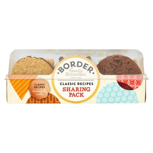BORDER LUXURY BISCUITS CATERING ASSORTMENT (400g) x 4