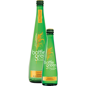 BOTTLEGREEN GINGER & LEMONGRASS SPARKLING PRESSE (275ml) x 12