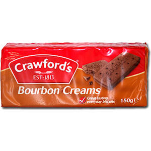 CRAWFORD'S BOURBON CREAMS (150g) x 12