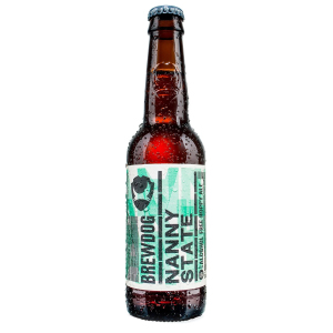 BREWDOG ALCOHOL FREE NANNY STATE BEER (330ml) x 24