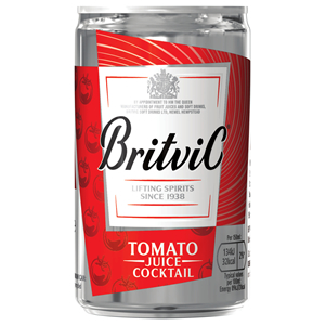 BRITVIC TOMATO JUICE MIXER CAN (150ml) x 24