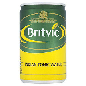 BRITVIC INDIAN TONIC WATER MIXER CANS (150ml) x 24