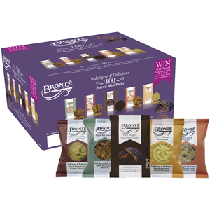 BRONTE PREMIUM MINI PACK ASSORTED BISCUITS (2-pack) x 100