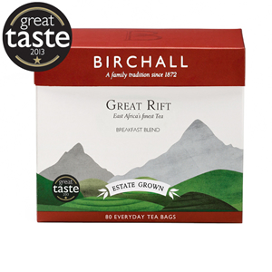 BIRCHALL GREAT RIFT BREAKFAST BLEND EVERYDAY TEA BAGS (80 bags)