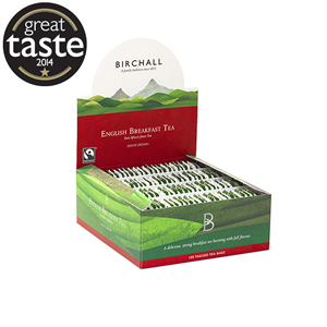 BIRCHALL ENGLISH BREAKFAST TEA TAGGED TEA BAGS (100 bags)