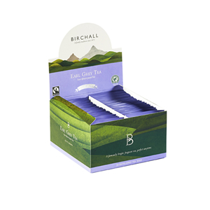 BIRCHALL EARL GREY TEA TAG & ENVELOPE TEA BAGS (50 bags)