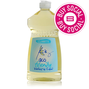 CLARITY & CO GRAPEFRUIT ECO WASHING UP LIQUID (500ml) x 12