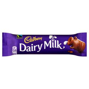 CADBURY DAIRY MILK BARS (45g) x 48