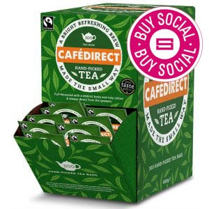 TEA DIRECT ENVELOPED  & TAGGED TEA BAGS